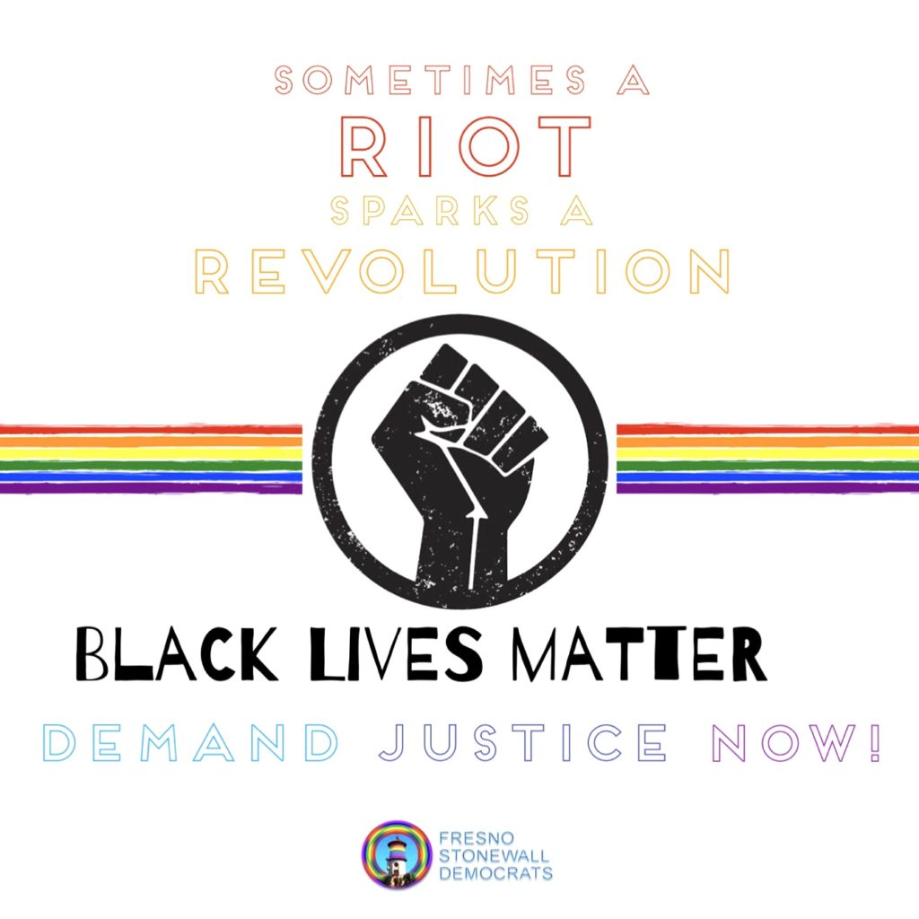 Sometimes A Riot Sparks A Revolution - Black Lives Matter - Demand Justice Now!